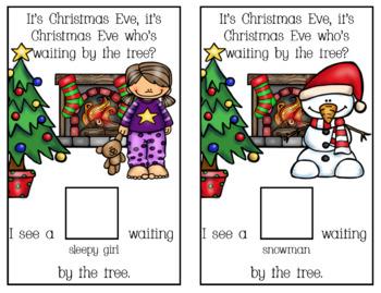 Christmas Matching Adapted Book Bundle