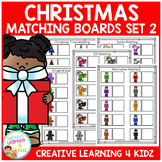 Christmas Matching Board Bundle 2