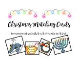 Christmas Matching Cards, 21 items, WebAblls B5, WebAblls
