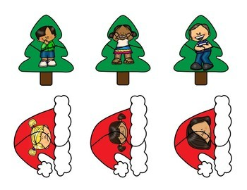 Christmas Matching Emotion Puzzles