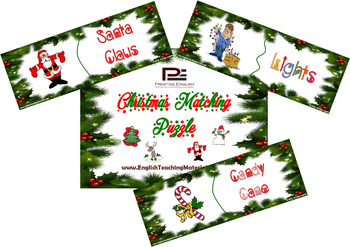 Christmas Matching Game/Puzzle