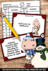 Christmas Math Activities, Elapsed Time Task Cards, 4th Grade Math Review Games