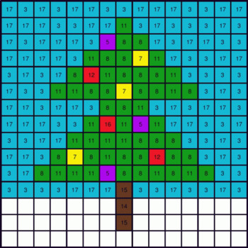 Christmas Math: 1-Digit Addition - Mystery Picture - Google Forms