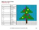 Christmas Math: 1-Digit Multiplication - Color-By-Number Mystery Pictures