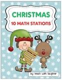 Christmas Math {10 Work Stations}