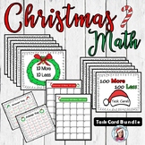 Christmas Math (10 more, 10 less, 100 more, 100 less)