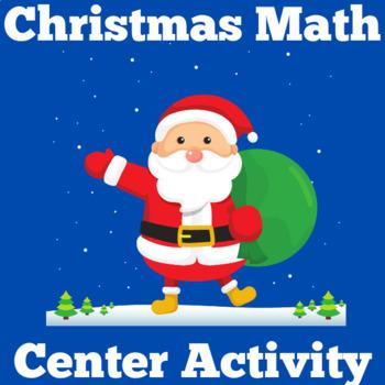 Christmas Math Center | Christmas Math Activity | Christmas Math Kindergarten