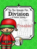 Christmas Math FREEBIE (Division)