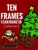 Christmas Math Ten Frames