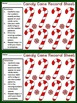 Christmas Activities: Candy Cane Number Patterns Christmas Math Bundle -Color&BW
