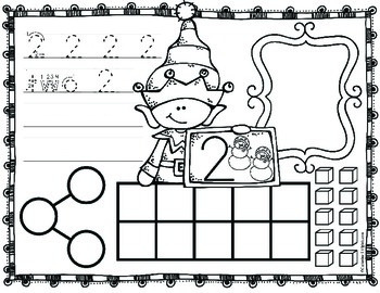 Christmas Math Number Sense