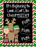 Christmas Activities * MATH