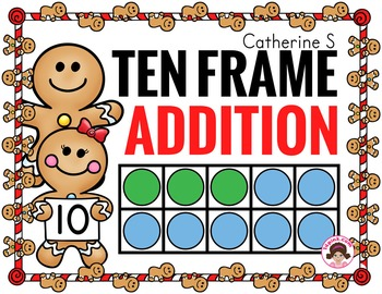 Ten Frame Addition Worksheets