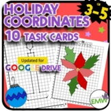 Christmas Holiday Math Coordinates Drawings Activity