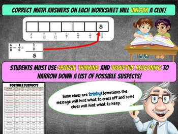 Fun Christmas Activity: Christmas Math Mystery {Grade 4}