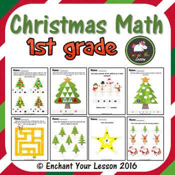 Christmas Math 1st Grade