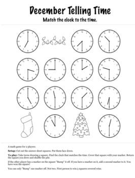 Christmas Math 1st Grade+ Bump Games Bundle