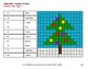 Christmas Math: 2-Digit - 1-Digit Subtraction - Color-By-Number Mystery Pictures