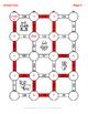 Christmas Math: 2-Digit By 1-Digit Multiplication Maze