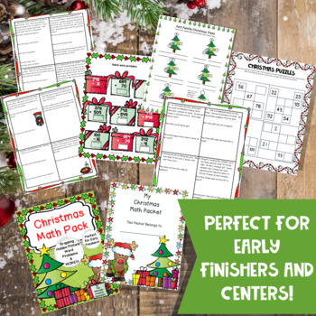 Christmas Math Pack for 3rd Grade