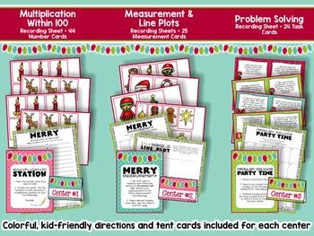 Christmas Math 3rd Grade - Fun & Festive Activities for Math Centers