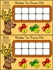 Reindeer Activities: Reindeer Christmas Ten Frames Math Center Activity Packet