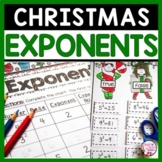 Christmas Math Exponents Activities