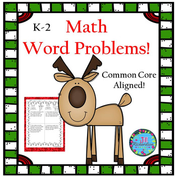 Christmas Math Word Problems!