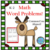 Christmas Math Worksheets : Christmas Math Word Problems!