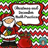 Christmas Math for First Grade or Kindergarten