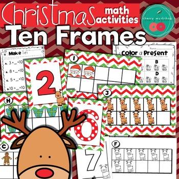 Christmas Math TenFrames