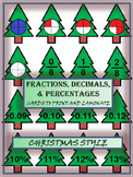 Decimals, Fractions and Percentages - Math - Christmas