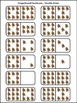 Christmas Math Activities: Gingerbread Men Christmas Dominoes Math Game Activity