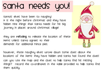 Santa needs your help! Christmas Mystery Puzzle