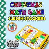 Christmas Math Game FREE {Differentiated Math Cards}