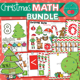 Christmas Math Centers for Kindergarten Bundle