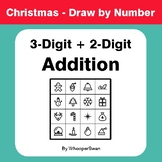 Christmas Math: 3-Digit + 2-Digit Addition - Math & Art -