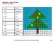 Christmas Math: 3-Digit - 2-Digit Subtraction - Color-By-Number Mystery Pictures