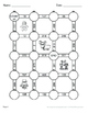 Christmas Math: 3-Digit Subtraction Maze