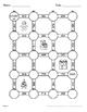 Christmas Math: 3-Digit and 2-Digit Addition Maze