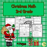 Christmas  Math 3rd Grade