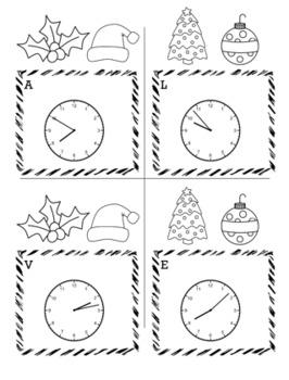 Christmas Math 3rd Grade Scavenger Hunt Game Bundle