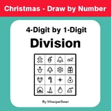 Christmas Math: 4-Digit by 1-Digit Division - Math & Art -
