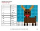 Christmas Math: 4-Digit by 2-Digit Division - Color-By-Number Mystery Pictures