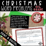 Christmas Word Problems 4th Grade Multi-Step