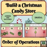 Christmas Math 6th Grade Math Order of Operations Winter Math