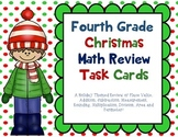Christmas Math: A Fourth Grade Math Review