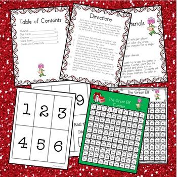 Christmas Math Game: A Multiplication Christmas Math Game for the 100's Chart