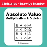 Christmas Math: Absolute Value - Multiplication & Division