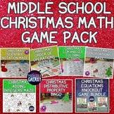 Christmas Math Activities Bundle